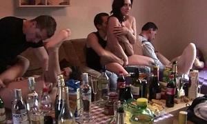 Czech non-professional secret groupsex gang