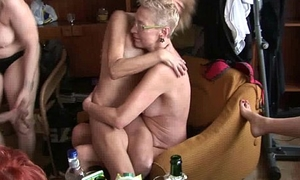Hardcore mature home fuckfest