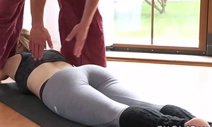 Fit mart fucked regarding missionary at dramatize expunge gym
